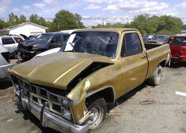 1982 GMC C1500 for sale in Simpsonville, SC | 1GTDC14H0CF720270