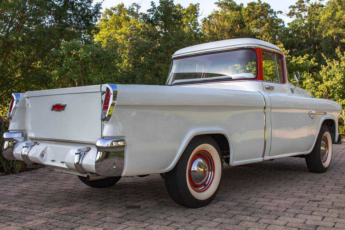 1955 Chevrolet Cameo For Sale In Virginia Beach Va H255b004163 Chevy Truck Prev