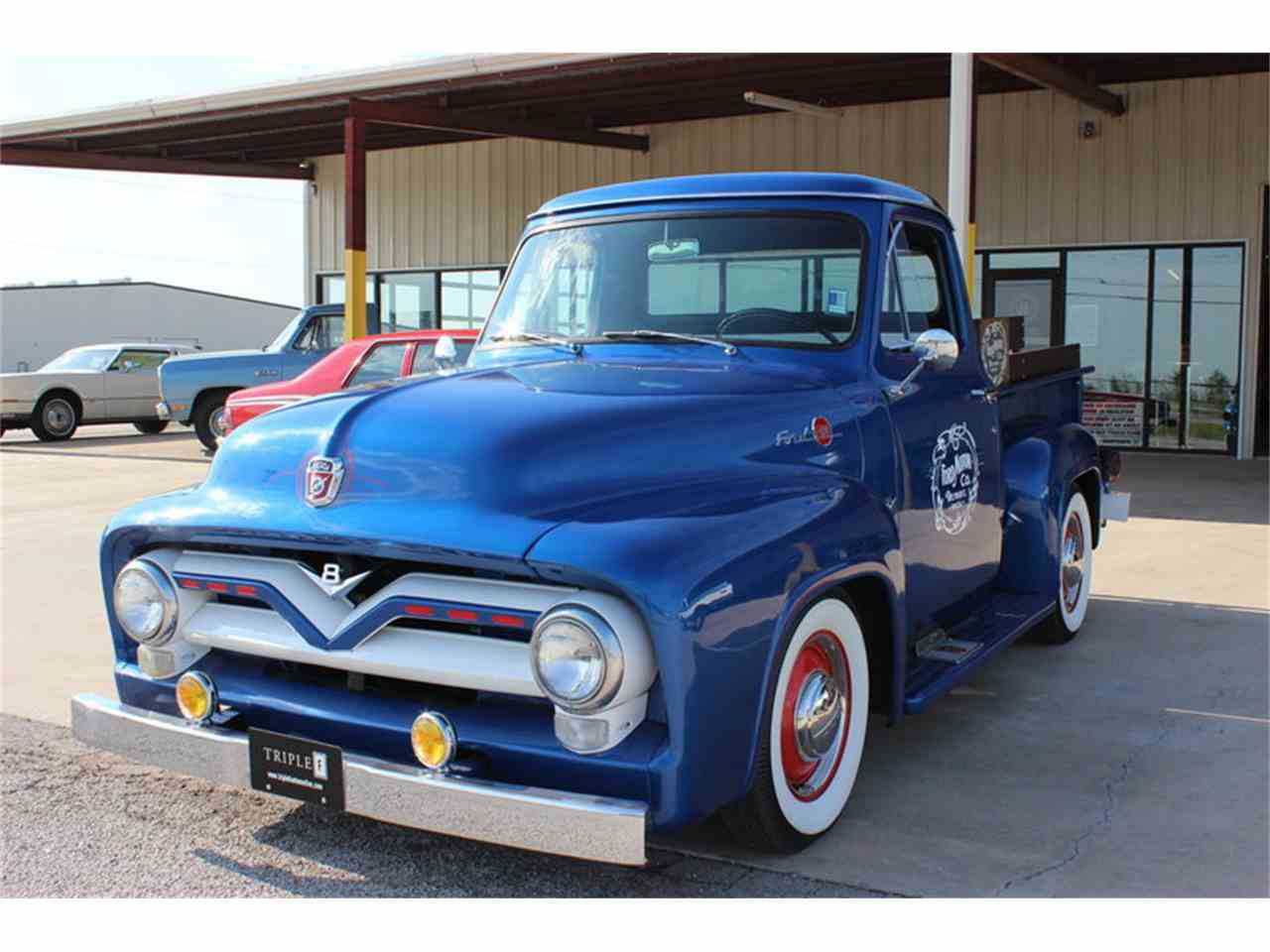 1955 Ford F100 For Sale In Fort Worth Tx Seat
