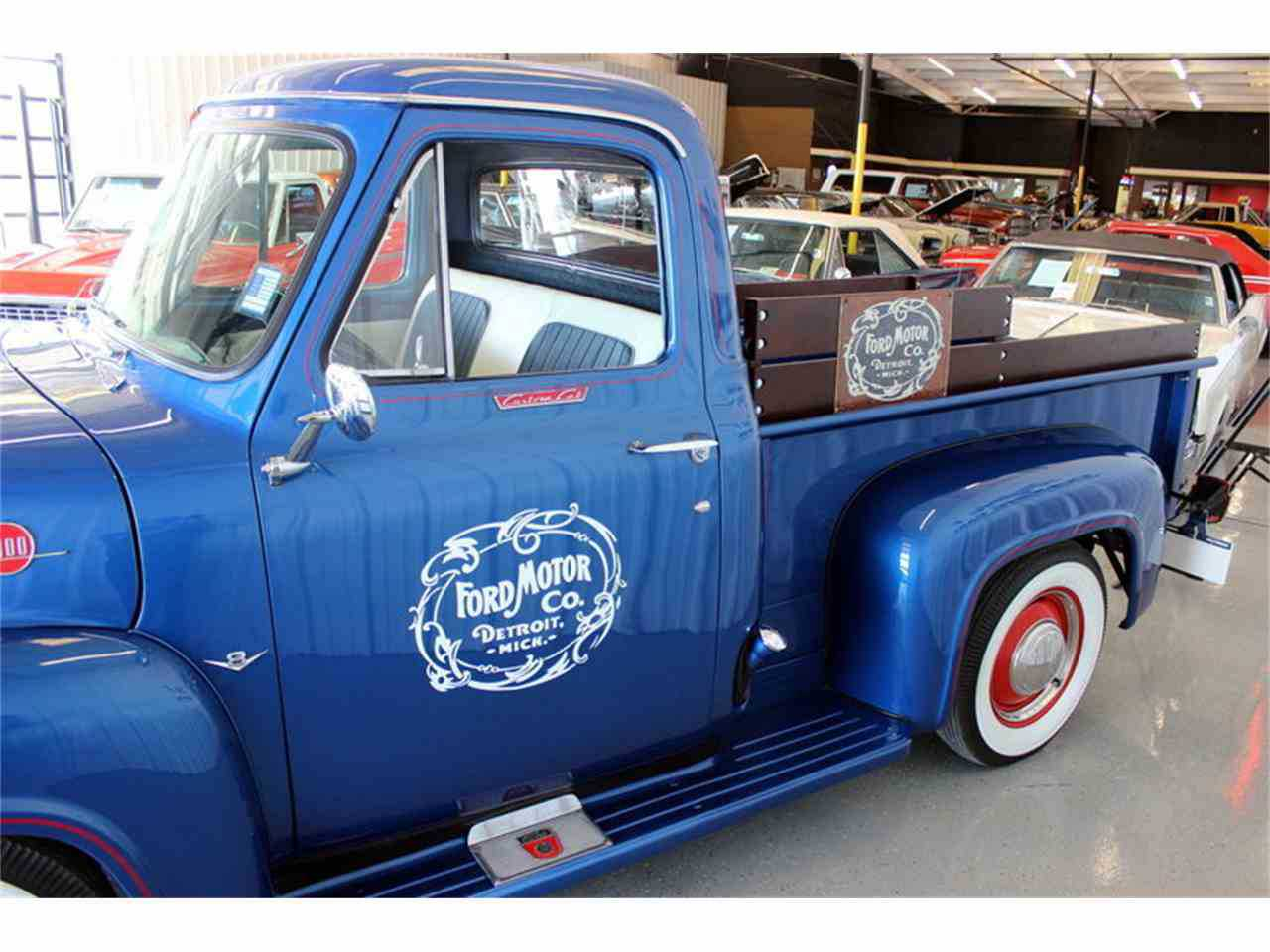 1955 Ford F100 For Sale In Fort Worth Tx Side Prev