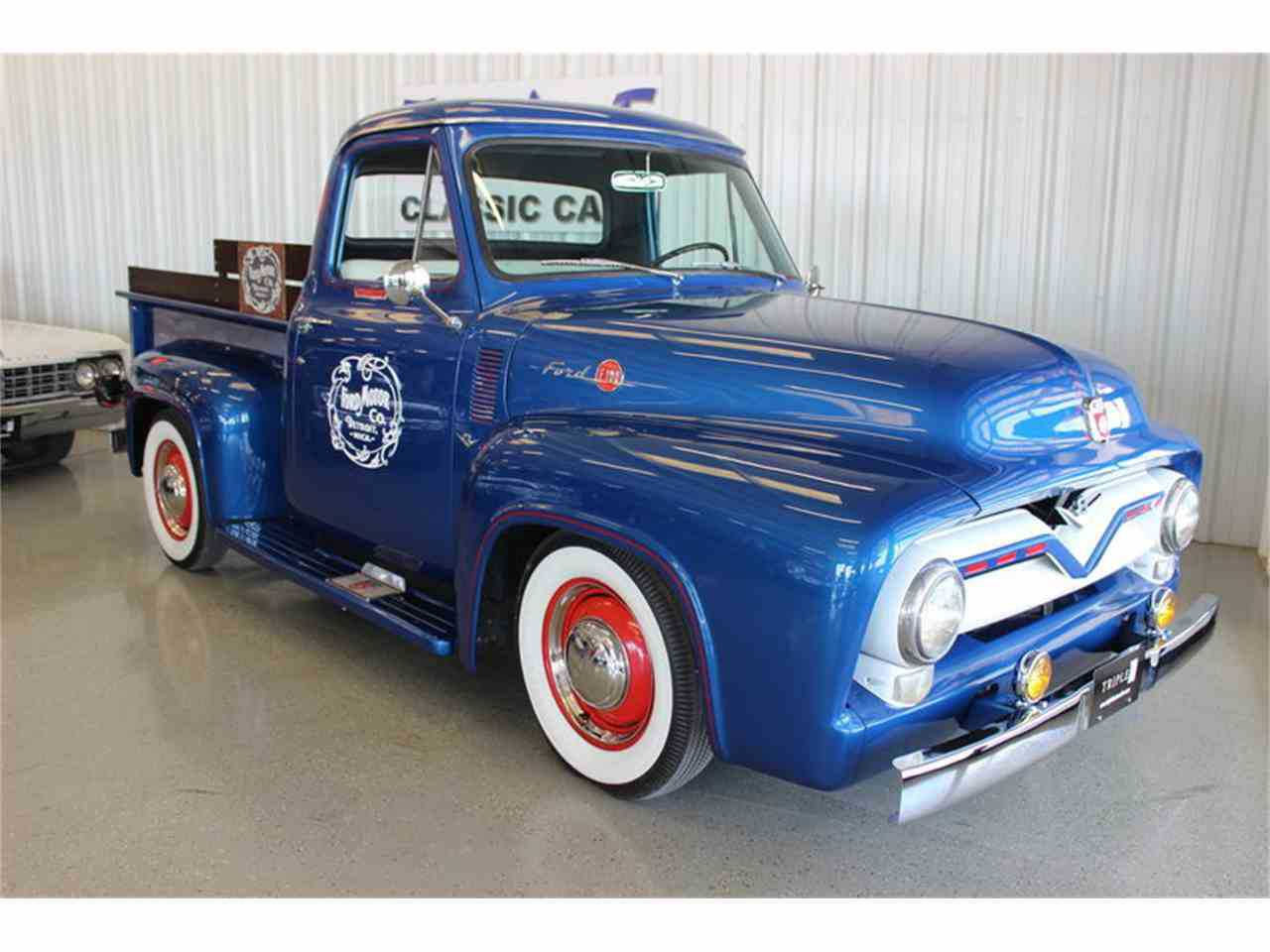 1955 Ford F100 For Sale In Fort Worth Tx Wide Bed