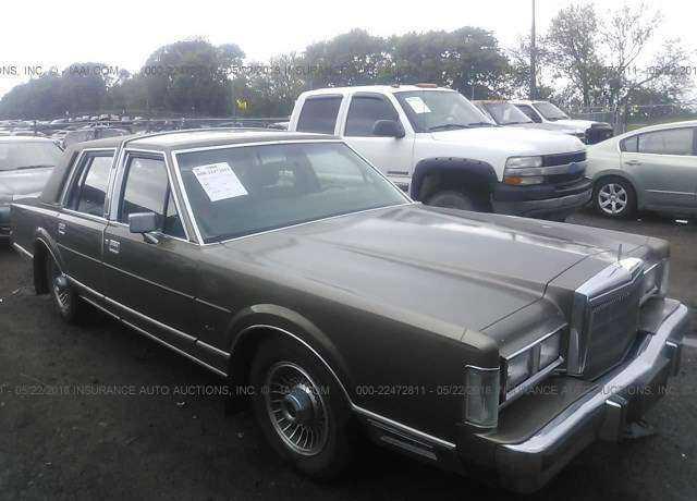 1988 Lincoln Town Car For Sale In Springfield Ne 1lnbm81f9jy744399