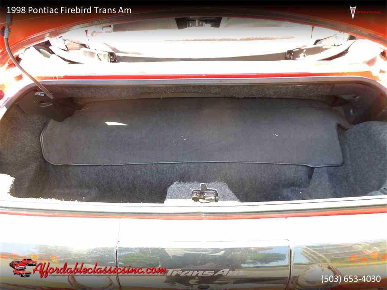 1998 Pontiac Firebird Trans Am For Sale In Gladstone Or Specs 2g2fv32g7w2219766