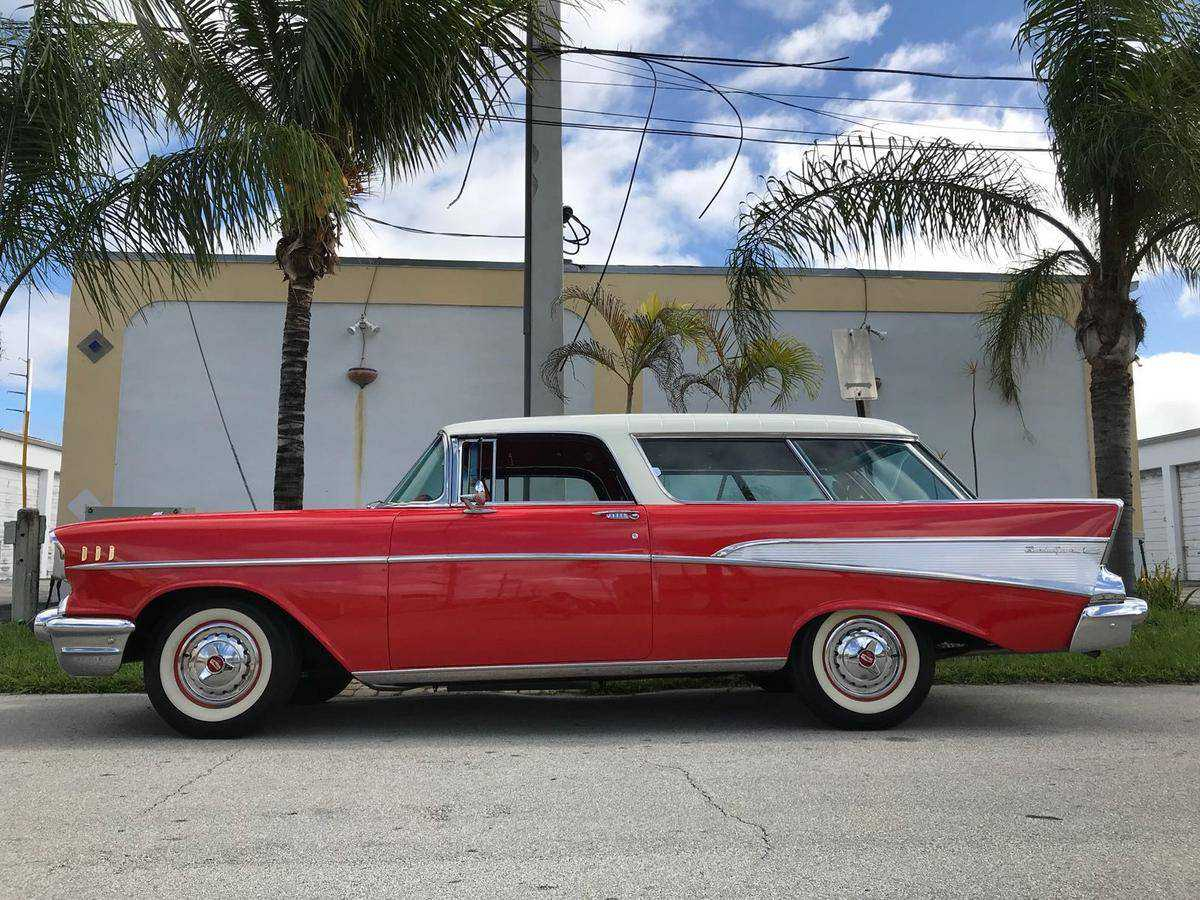 1957 Chevy Nomad Wagon Chevrolet For Sale In Fort Lauderdale Fl