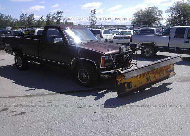 1988 Gmc Gmt 400 For Sale In Belleville Mi 1gtfk24kxje535448