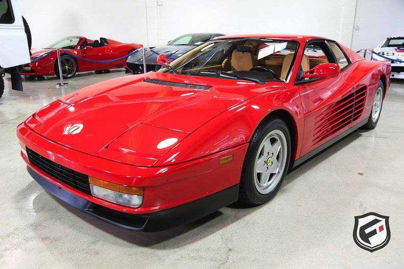 1989 Ferrari Testarossa For Sale In Chatsworth Ca Zffsg17a0k0079506
