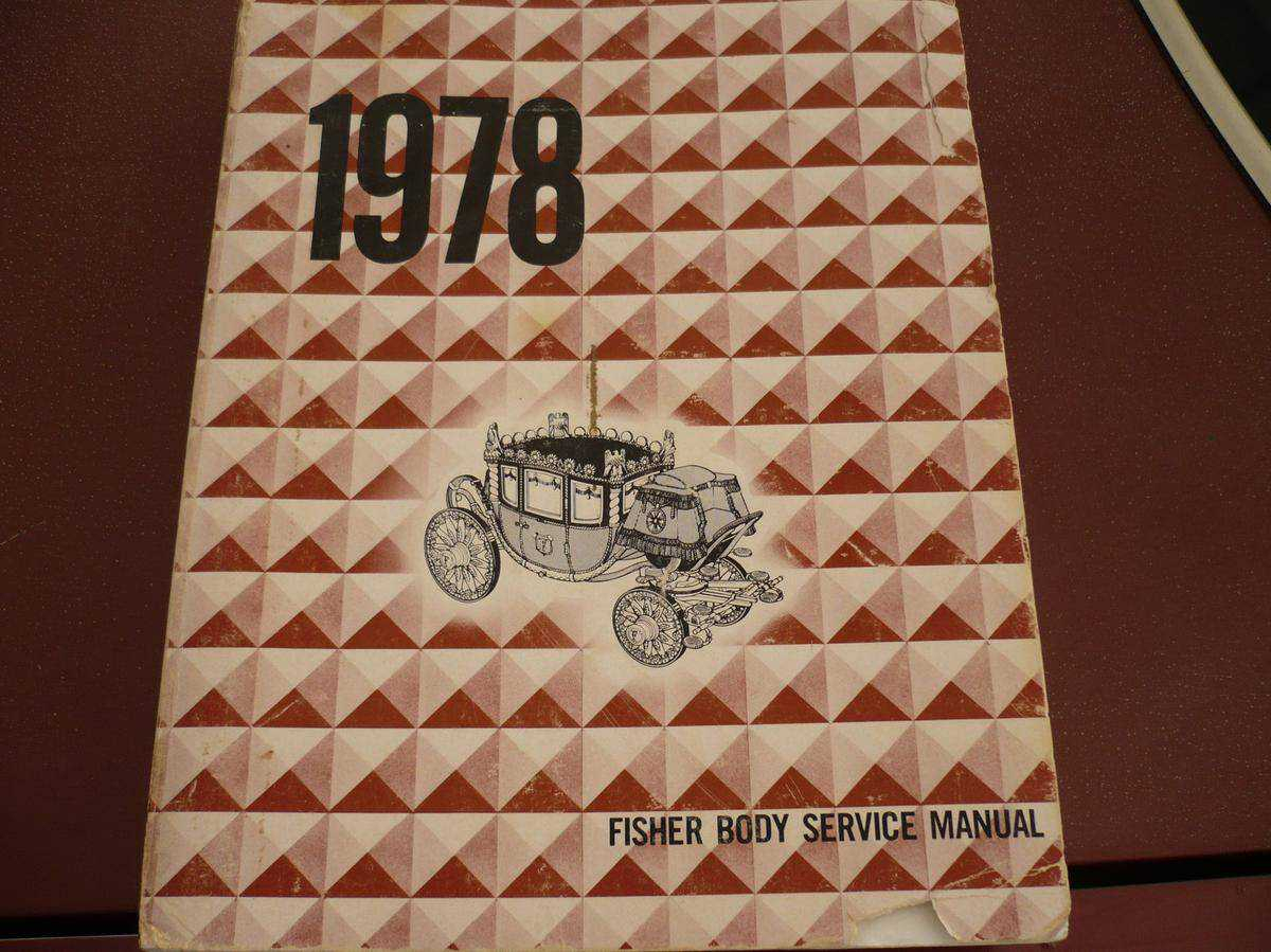 1978 pontiac service manual