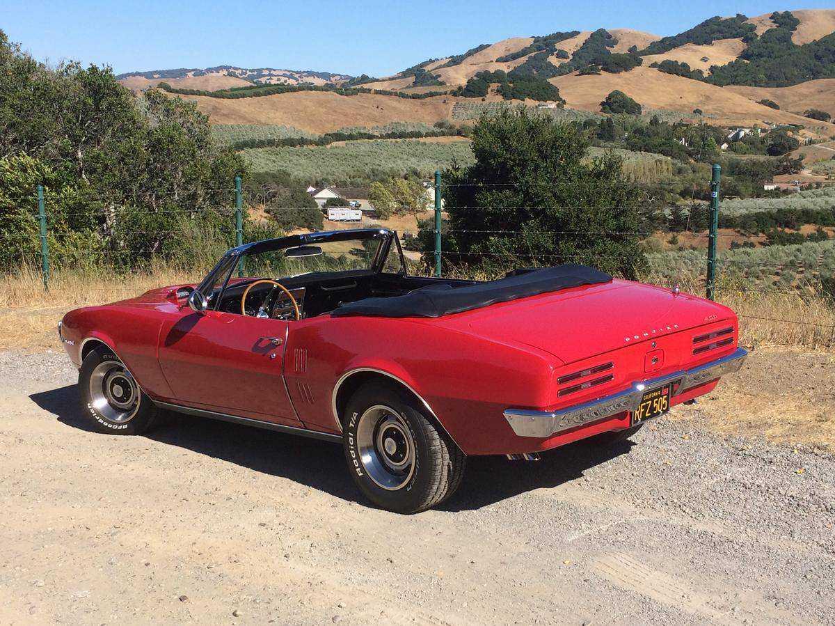 1967 Pontiac Firebird for sale in Sonoma, CA   223677U121044