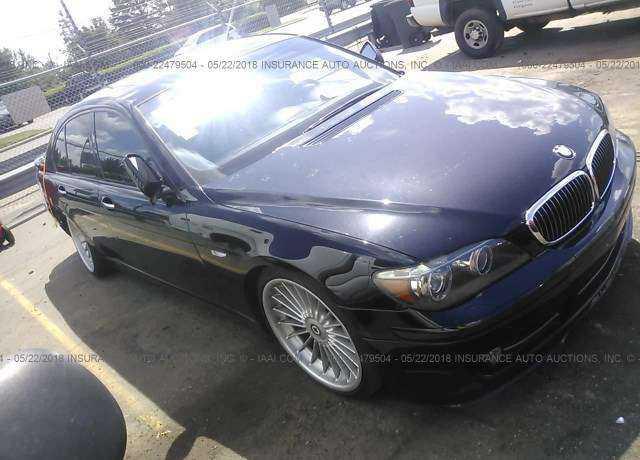 BMW ALPINA B For Sale In Charlotte NC WBAHLDT - 2007 bmw b7 alpina for sale