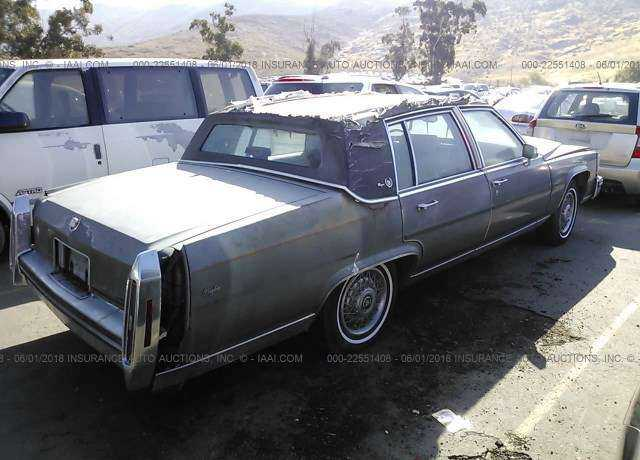 1987 CADILLAC BROUGHAM for sale in Fontana, CA