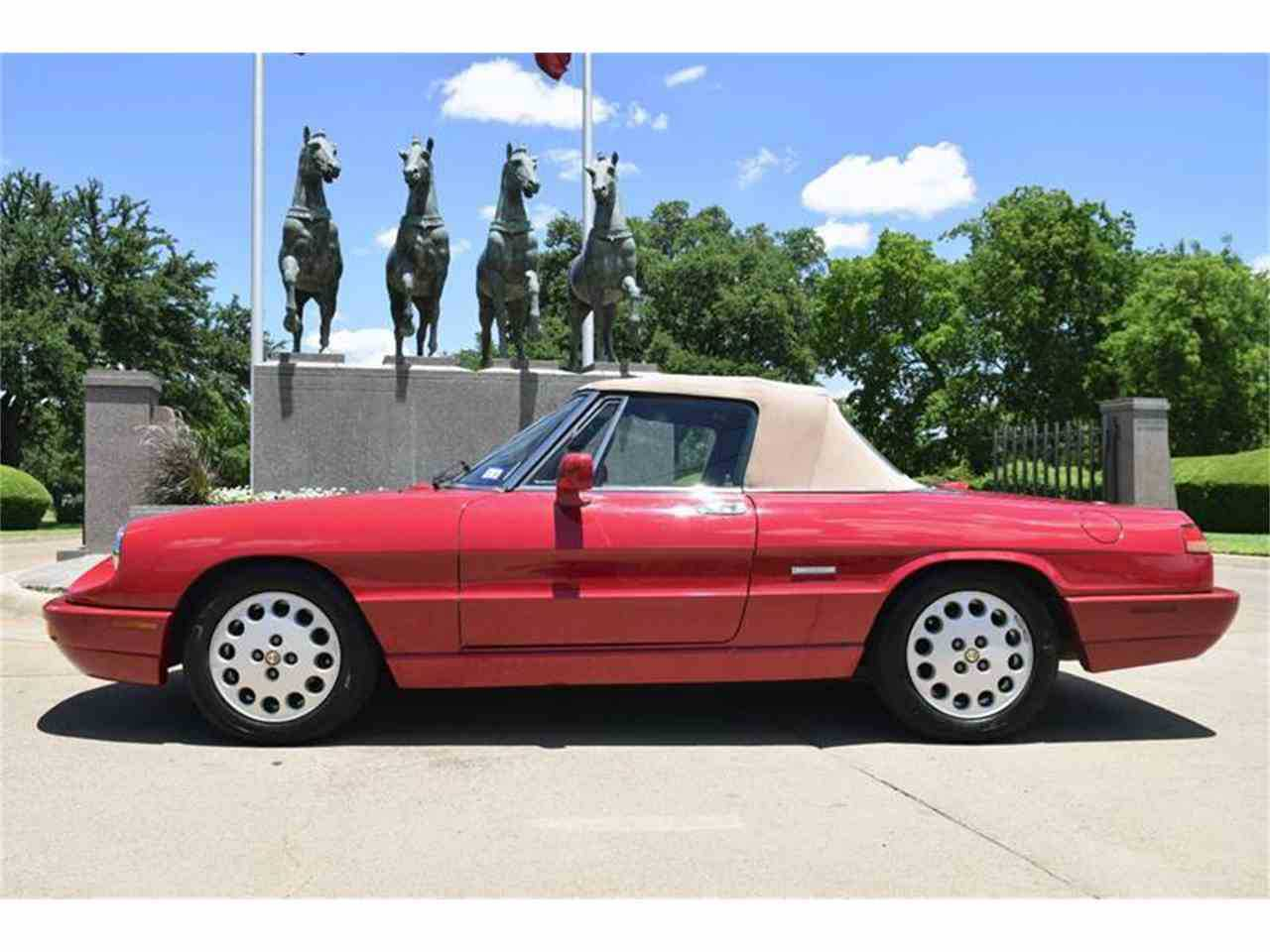 Alfa Romeo Spider For Sale In Fort Worth TX ZARBBNR - 1994 alfa romeo spider