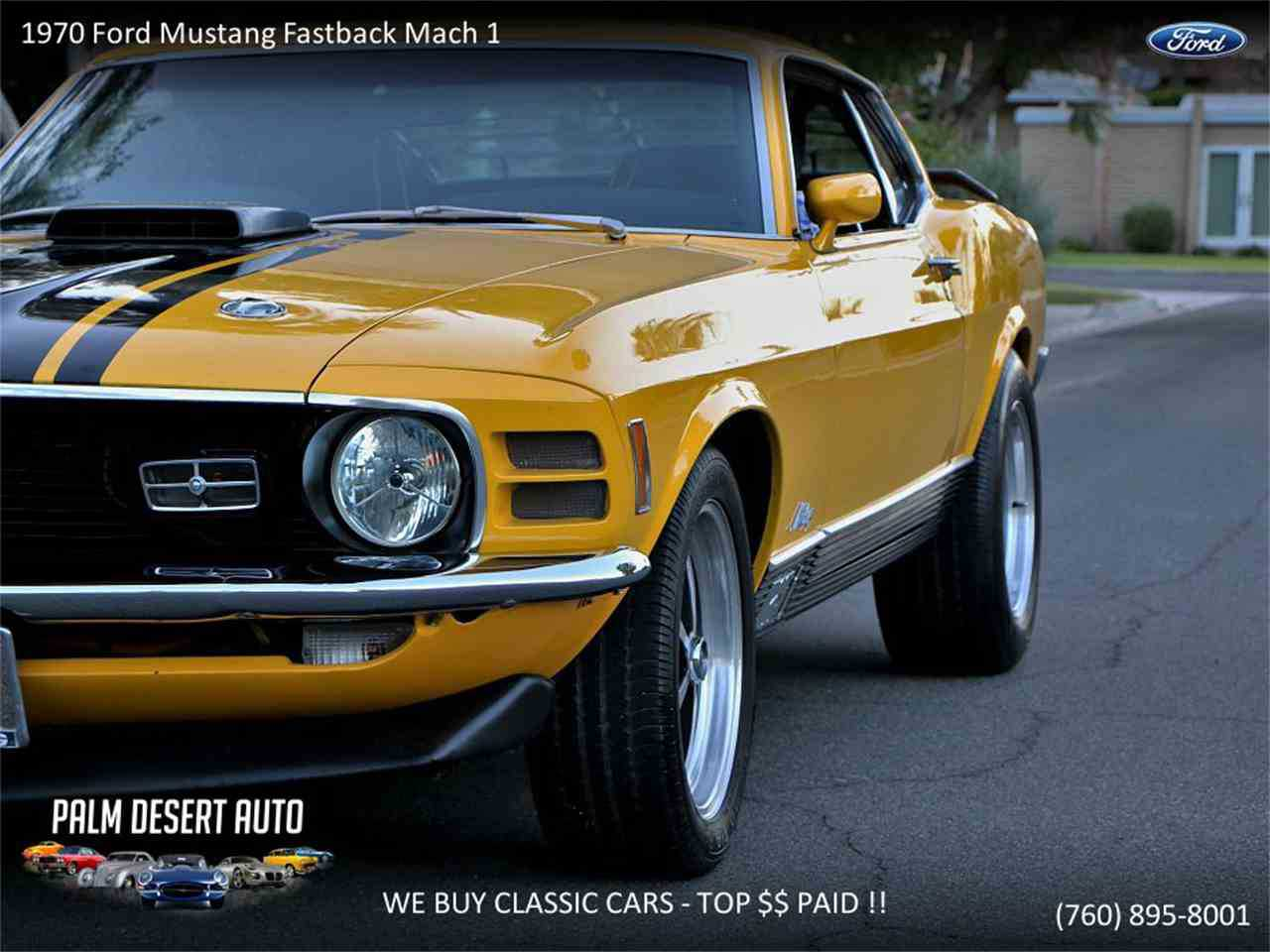 1970 Ford Mustang Mach 1 For Sale In Palm Desert Ca Oto5h13973o Fastback Prev Next