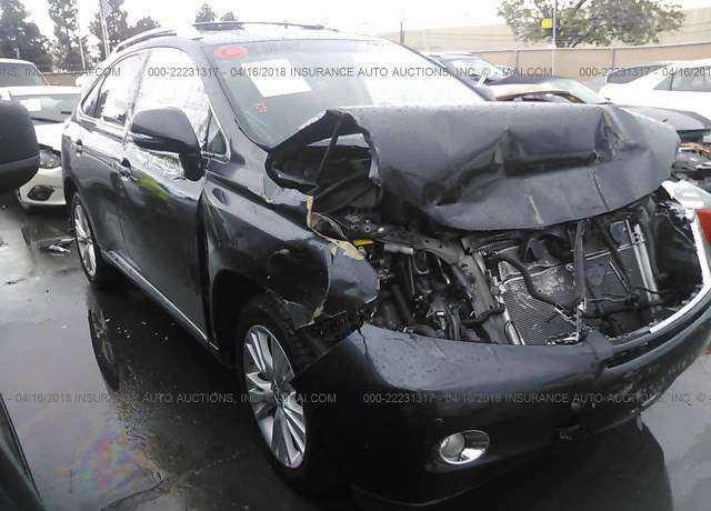 JTJBC1BA7A2029686 Lexus RX 350 / 450h 2010