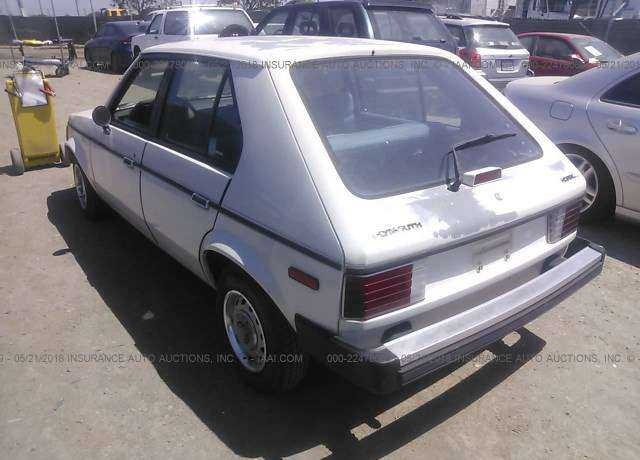 1987 PLYMOUTH HORIZON for sale in Bay Point, CA ...