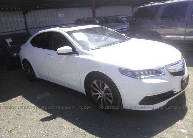 Auction Acura Tlx For Sale - 2018 acura tl for sale