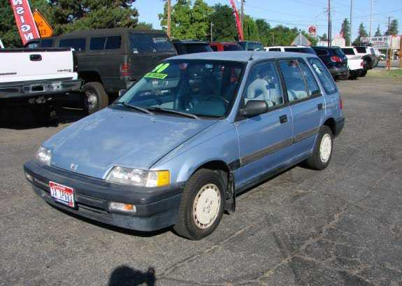 1990 honda civic station wagon