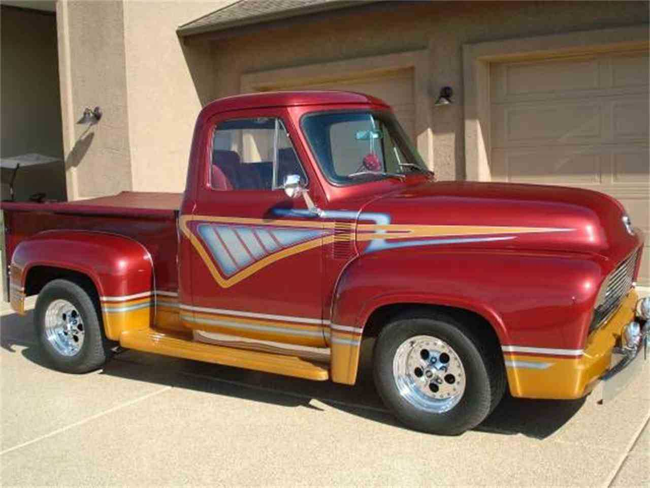1955 Ford F100 For Sale In Cadillac Mi Long Bed