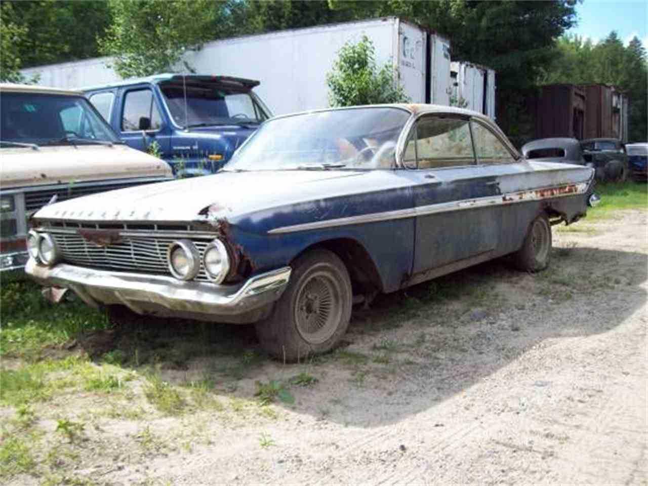 1961 Chevrolet Impala For Sale In Cadillac Mi Bubble Top