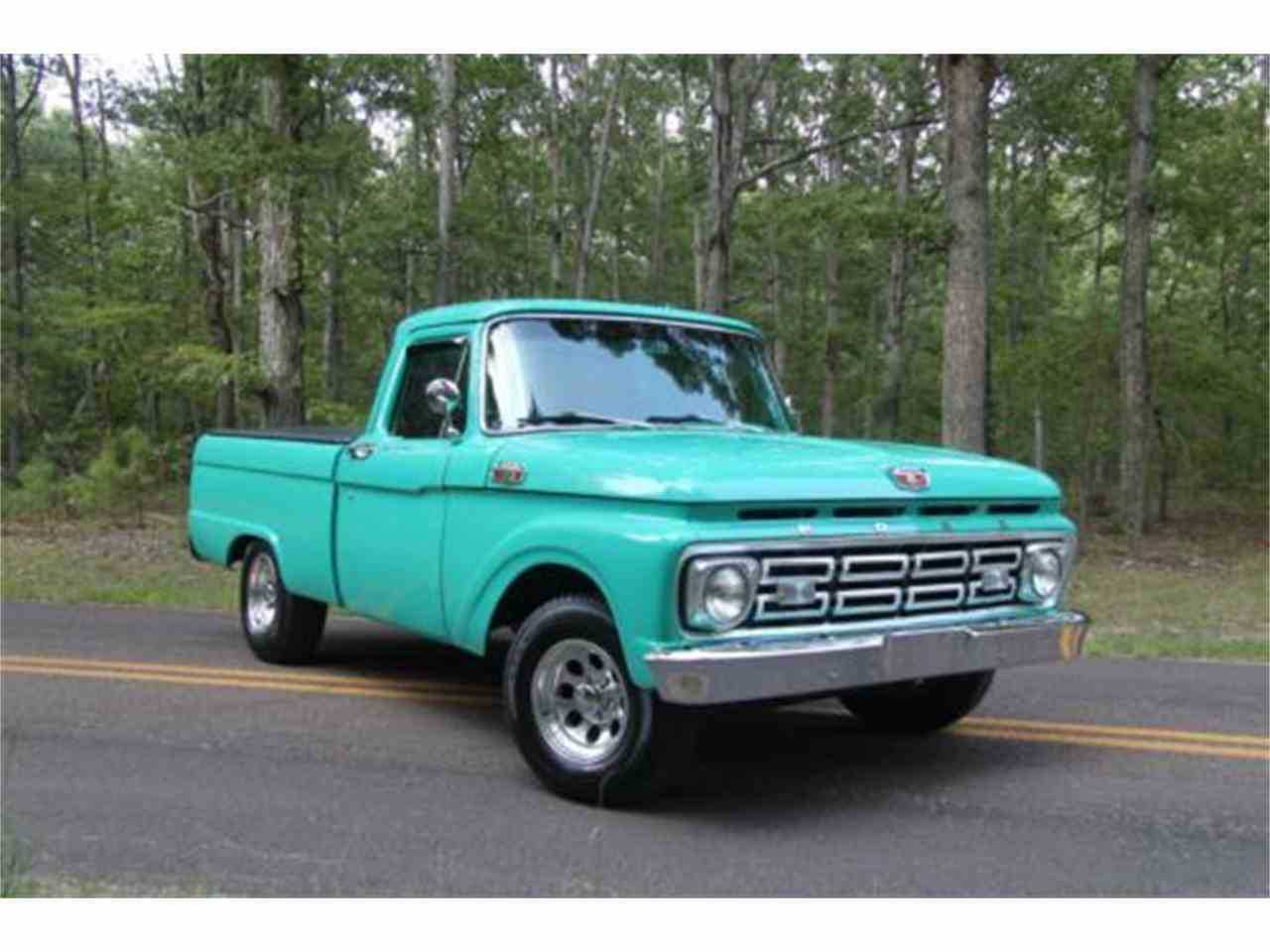 1964 Ford F100 For Sale In Cadillac Mi Pickup