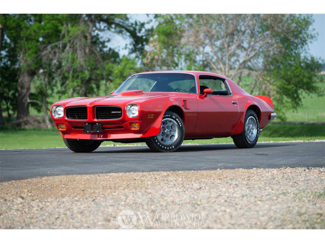 1973 Pontiac Firebird Trans Am 455 Super Duty For Sale In