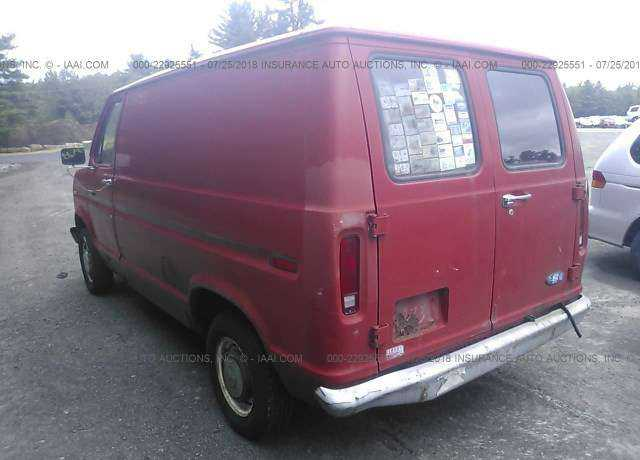 1983 FORD ECONOLINE for sale in Shirley, MA | 1FTDE04Y2DHA35181