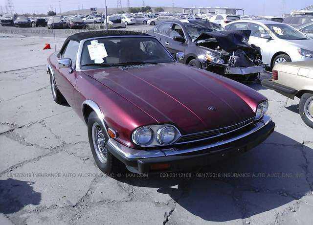 1989 Jaguar Xjs For Sale In Fremont Ca Sajnv4845kc164191