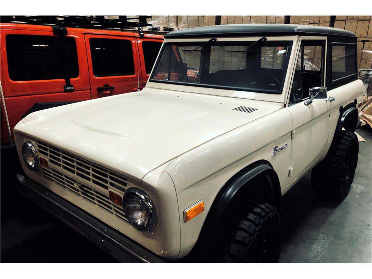 1971 Ford Bronco For Sale In U15gll40144 Interior