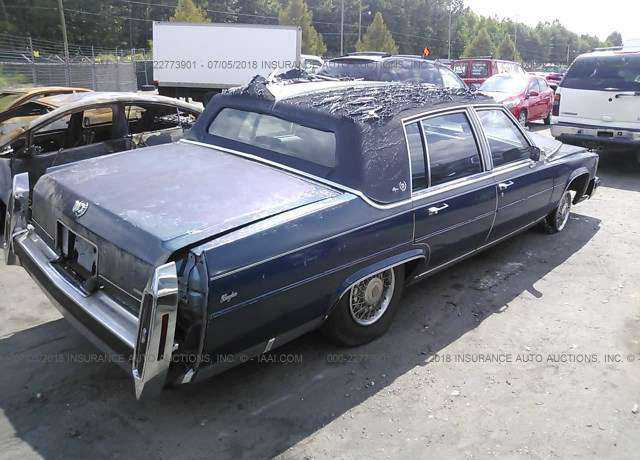 1987 CADILLAC BROUGHAM for sale in Columbia, SC