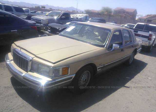 1990 Lincoln Town Car For Sale In Phoenix Az 1lnlm83f0ly717578