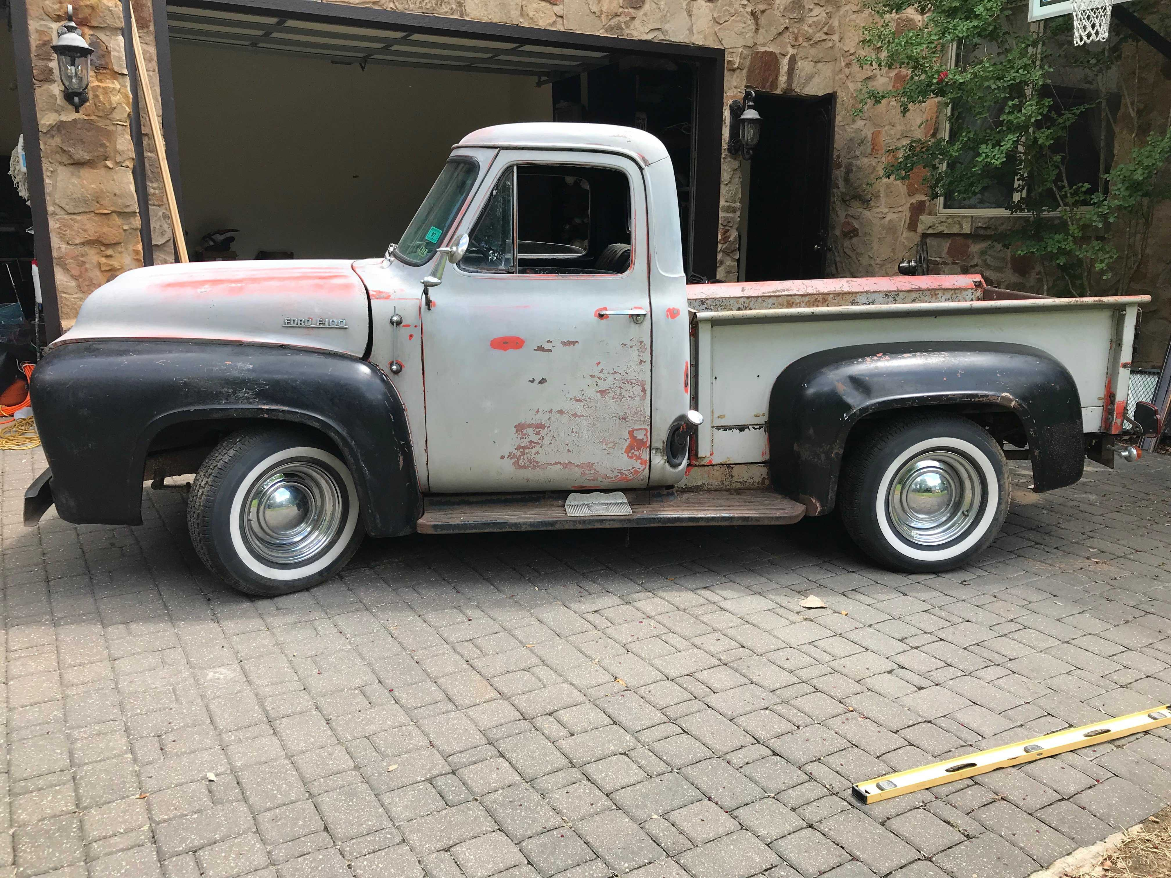 1953 Ford F100 For Sale 1955 Running Boards
