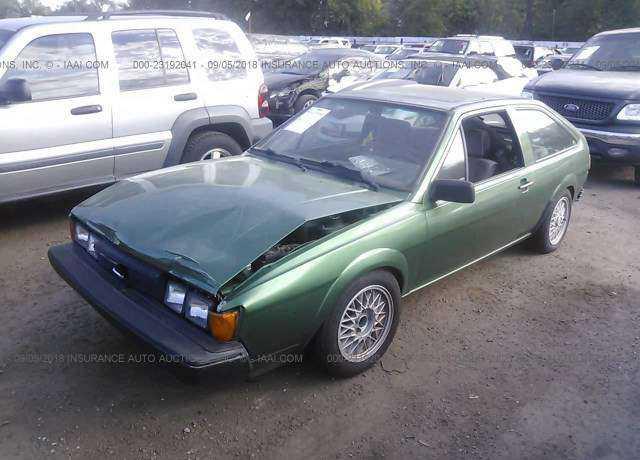 1985 VOLKSWAGEN SCIROCCO for sale in Ogden, UT | WVWCA0533FK007891