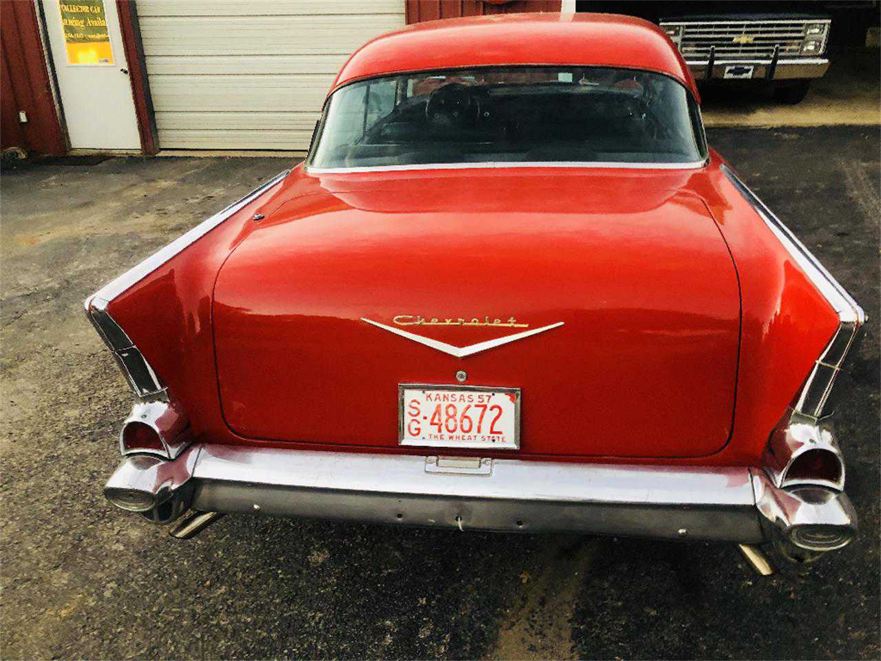1957 Chevrolet Bel Air For Sale In Wilson Ok Vc57k150765 Vin Tag