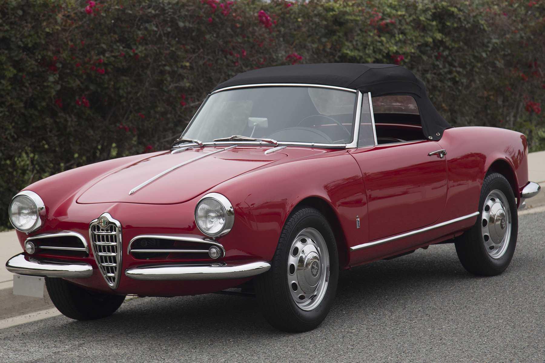 Alfa Romeo For Sale In Shingle Springs Ca 1961 Giulietta Spider Heck 1960