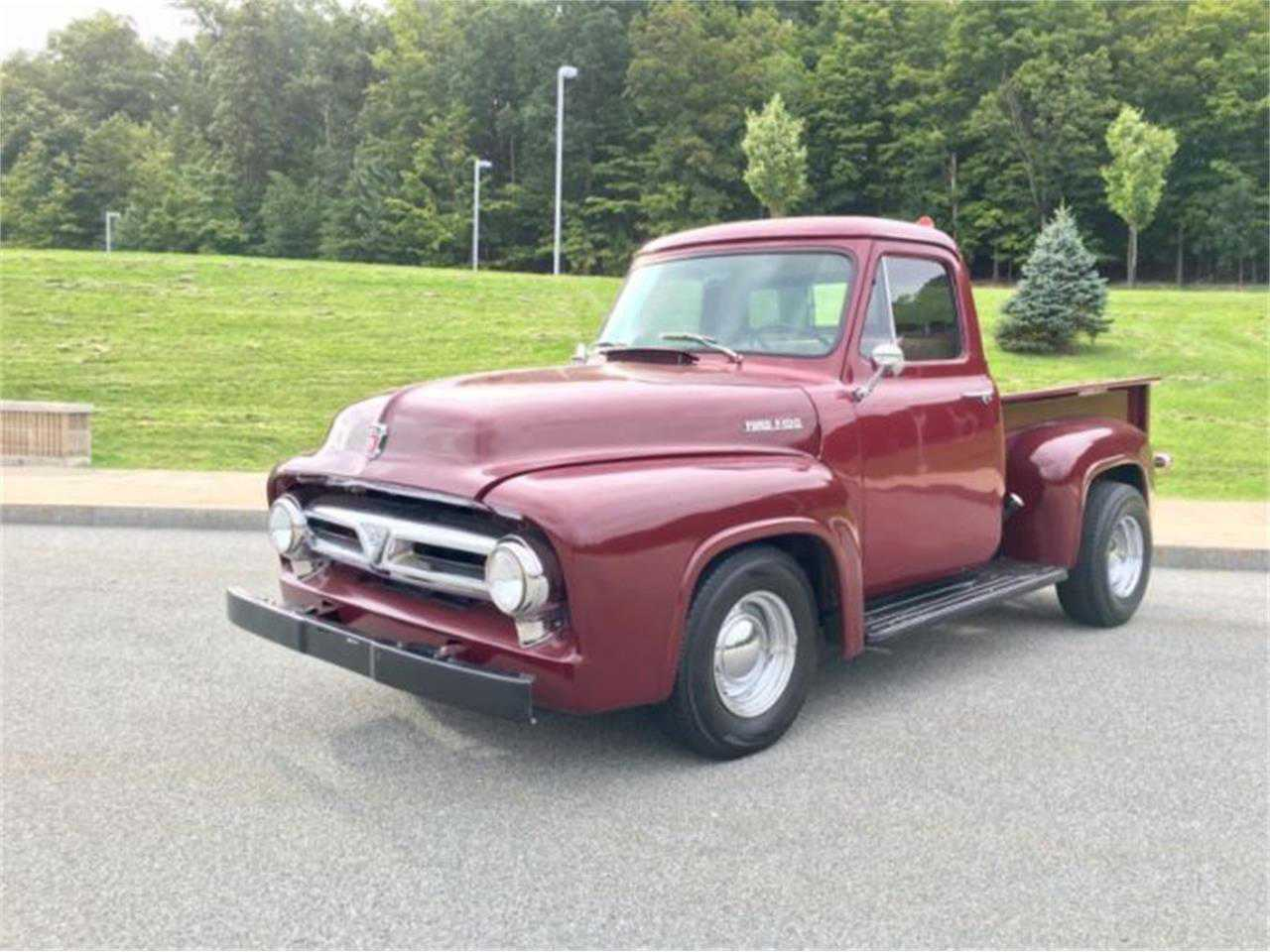 1953 Ford F100 For Sale In Massachusetts 1951 F1 Pickup Truck