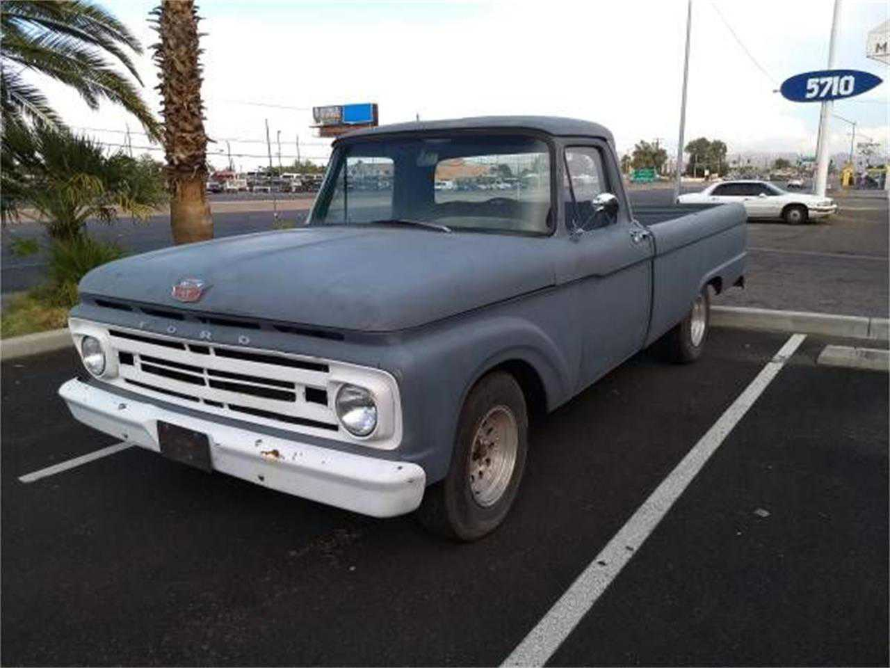 1964 Ford F100 For Sale In Idaho Short Bed