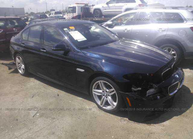 WBA5B1C55ED475203 BMW 5 series F10 LCI 535i 2013