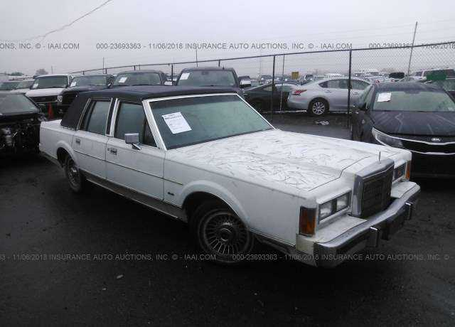 1989 Lincoln Town Car For Sale In Carteret Nj 1lnbm81f2ky672690