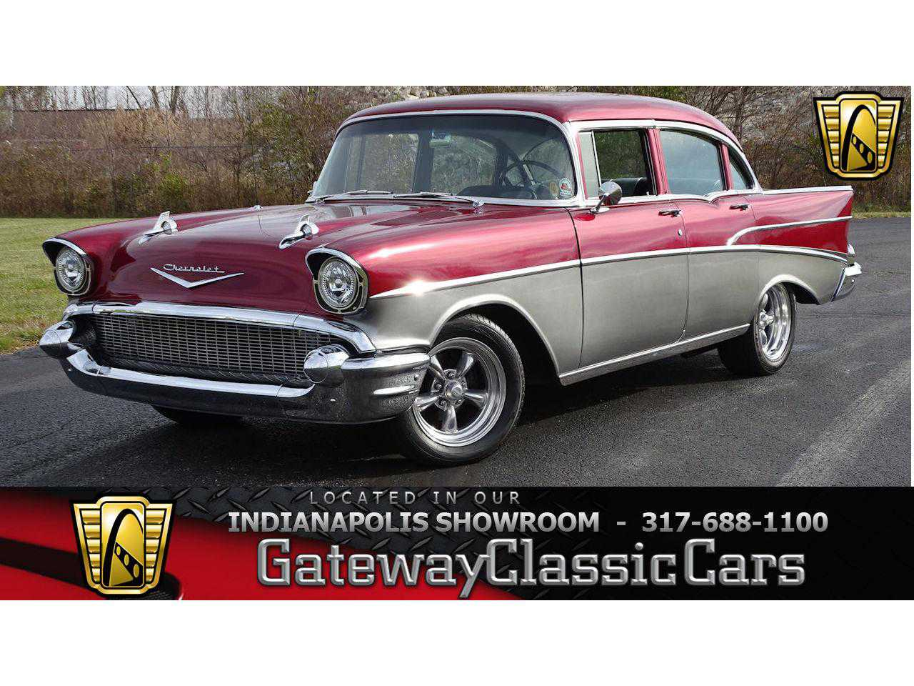 1957 Chevrolet Bel Air For Sale In Indianapolis Gccndy1187 57 Chevy Rear Bumper