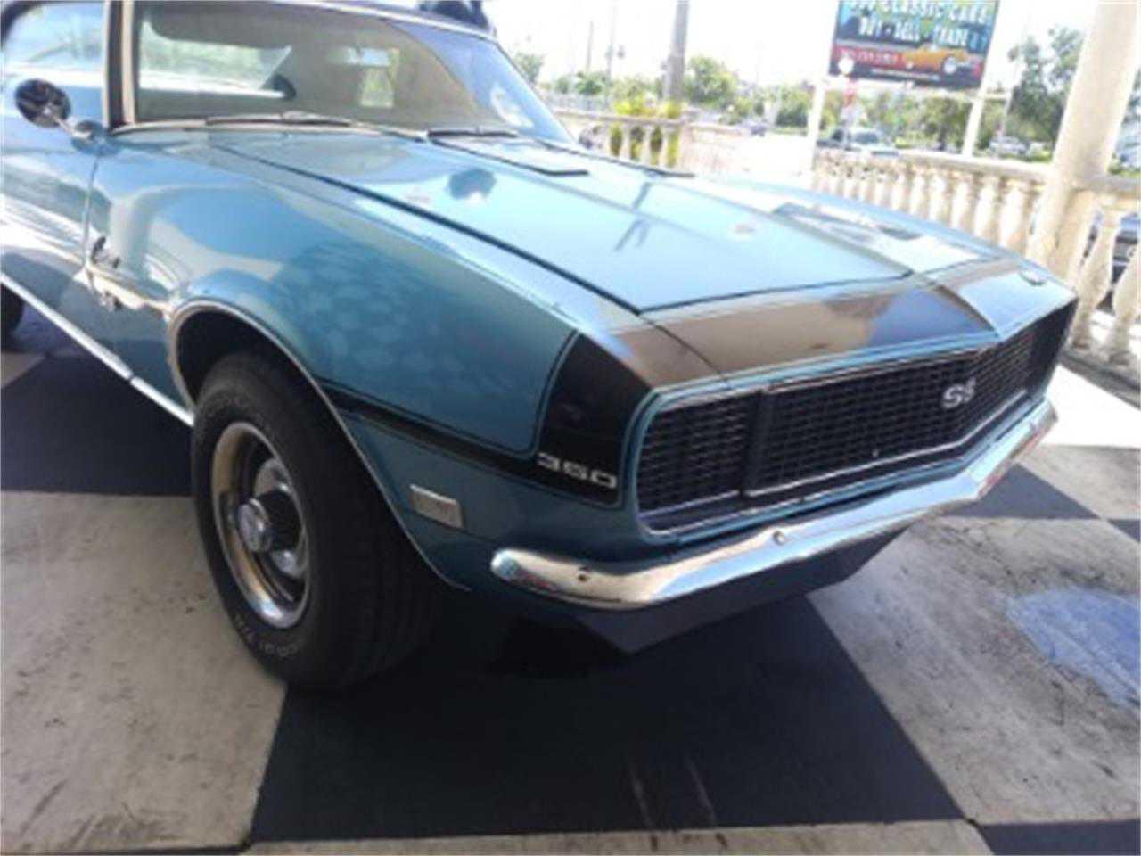 1968 Chevrolet Camaro For Sale In Miami Fl 124378n315682 Blue Prev