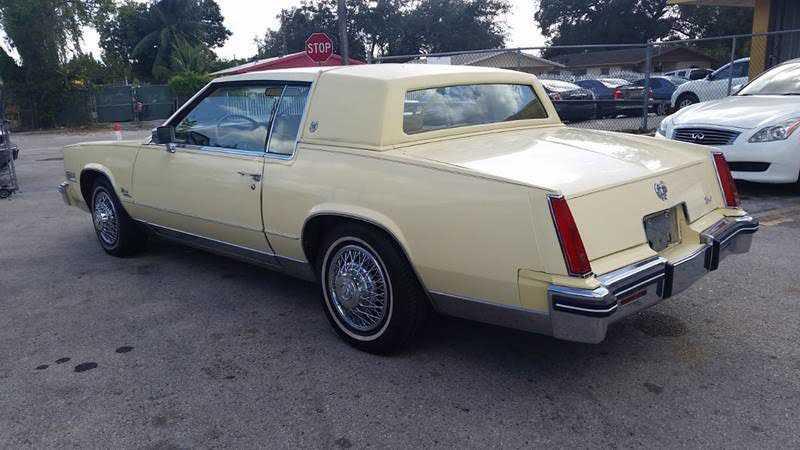1979 Cadillac Eldorado for sale in Miami, FL   XXXX6L57B9E657663