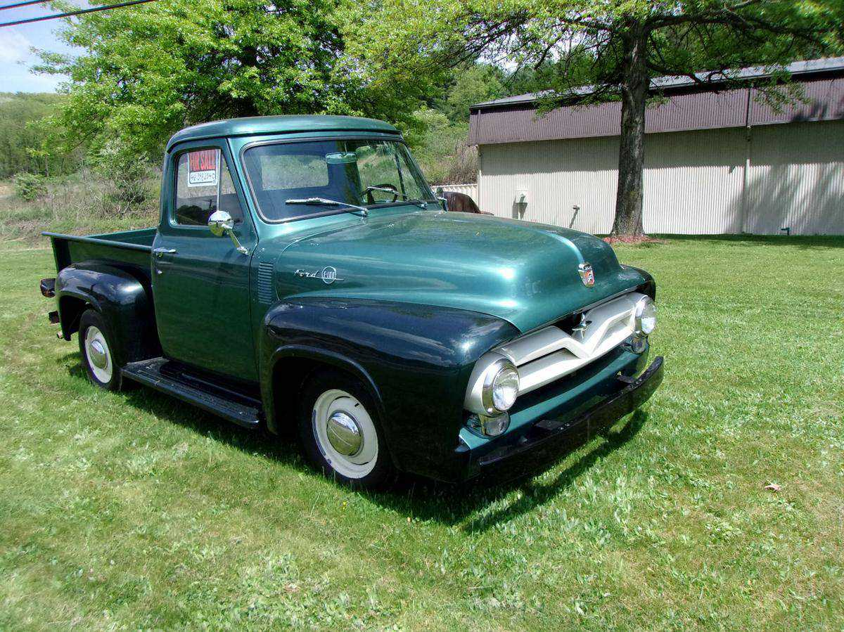 Used Ford F100 For Sale In Kingston Pa 1955 Pickup Truck