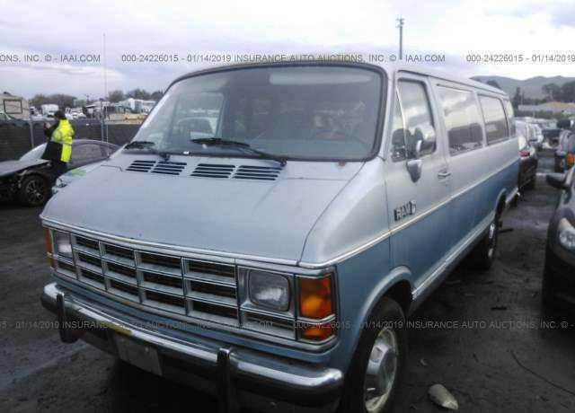 1989 DODGE RAM VAN for sale in Bay Point, CA | 2B6KB31Z7KK404758