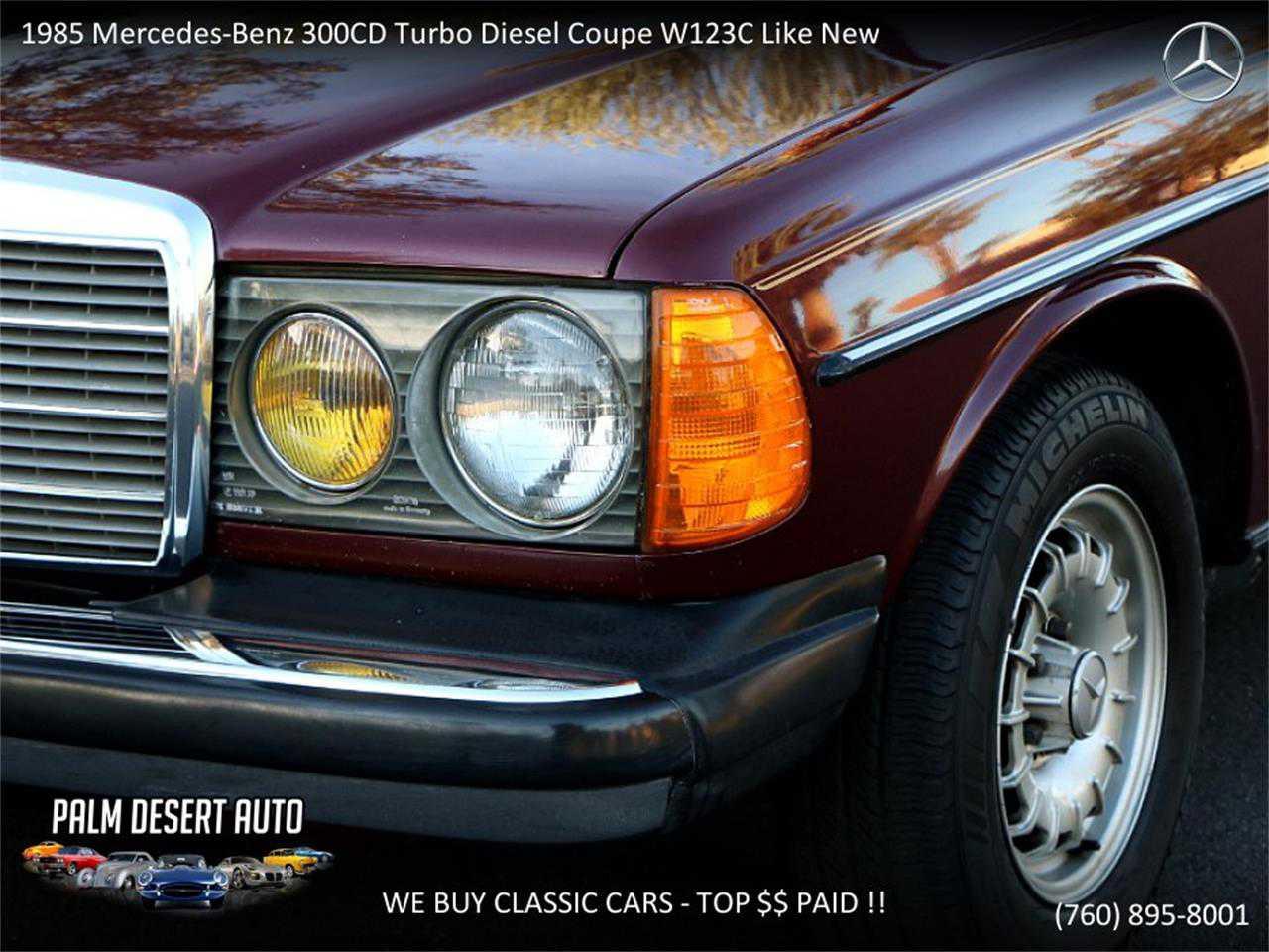 1985 Mercedes-Benz 300CD for sale in Palm Desert, CA