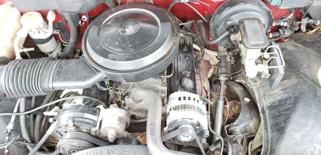 1990 Gmc Sierra Engine