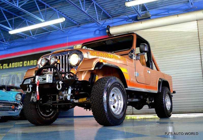 1984 Jeep CJ-8 for sale in Clearwater, FL | 1JCCF88E4ET010352