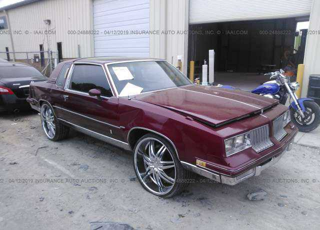 1984 Oldsmobile CUTLASS For Sale In Alabama