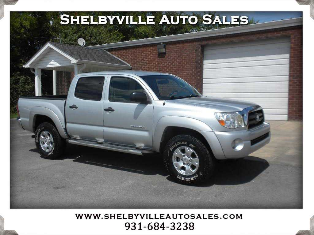 Shelbyville Auto Sales >> Toyota Tacoma For Sale In Shelbyville Tn