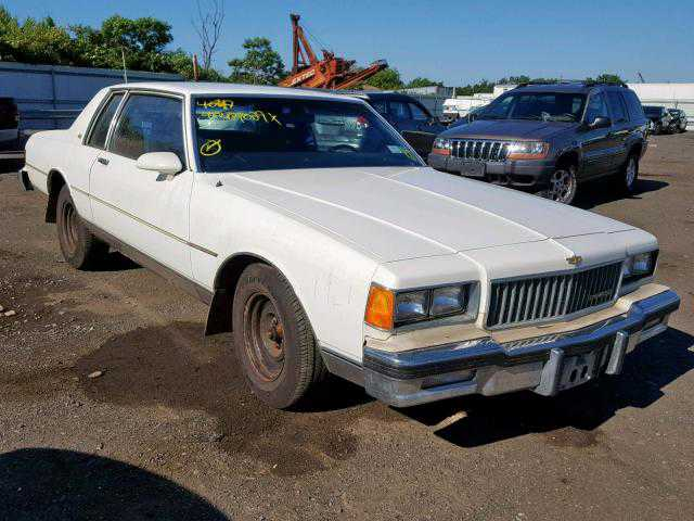 1986 CHEVROLET CAPRICE CL for sale in BROOKHAVEN, NY