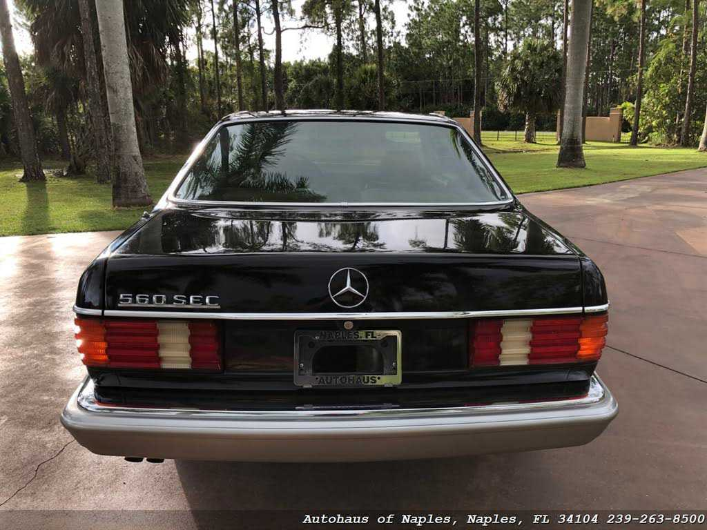1987 Mercedes-Benz 560-Class for sale in Naples, FL