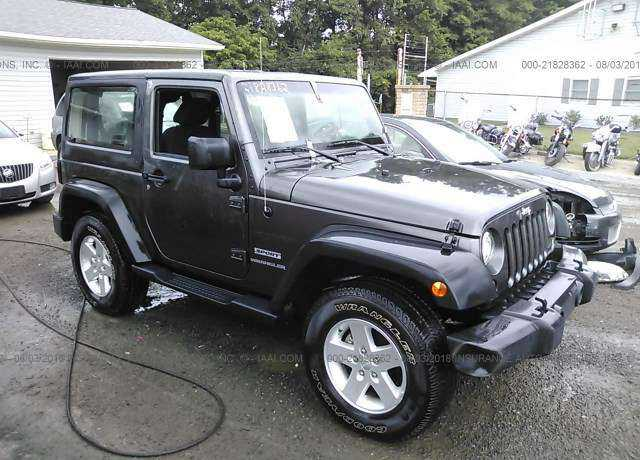 Auction 2017 Jeep Wrangler For Sale In Ohio